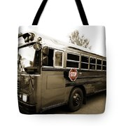 Bluebird Bus Limo 3 Tote Bag