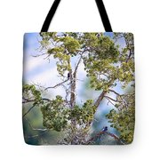 Bluebird Tree Tote Bag