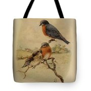 Bluebirds Tote Bag