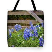 Bluebonnet Gate Tote Bag