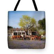 Bluebonnet Heaven Tote Bag