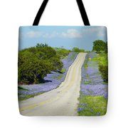Bluebonnet Highway 2am-28667 Tote Bag