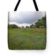 Bluebonnet Hill Tote Bag