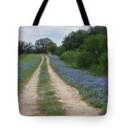 Bluebonnet Trail Tote Bag