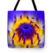Blue Brilliance Tote Bag