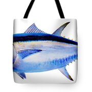 Bluefin Tuna Tote Bag by Carey Chen