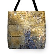 Bluegold Woodshed Flooring Tote Bag by Brian Boyle