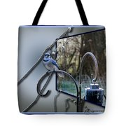Bluejay Oob - Featured In 'out Of Frame' And Comfortable Art Groups Tote Bag
