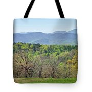 Blueridge Mountains In The Spring Tote Bag