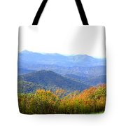 Blueridge Parkway Mm404 Tote Bag