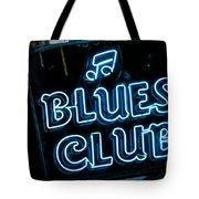 Blues Club On Bourbon Street Nola  Tote Bag