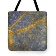 Blues Composition Tote Bag