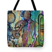 Blues Jazz Club Series Tote Bag