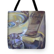 Bluestone Traminette And Glass Tote Bag