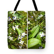 Bluets In Stereo Tote Bag