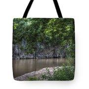 Bluffs Along Big River Tote Bag