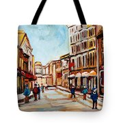 Blumenthals On Craig Street Tote Bag
