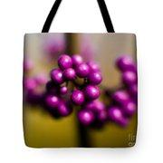 Blur Berries Tote Bag