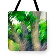 Blurred Pecan Tote Bag