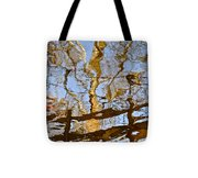 Blurred Reality Tote Bag