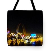 Blurry Waterfront 2 Tote Bag