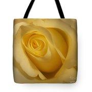 Blushing Cream Rose 3 Tote Bag