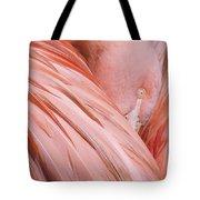 Blushing Flamingo Tote Bag