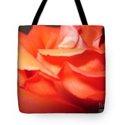 Blushing Orange Rose 6 Tote Bag