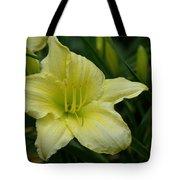 Blushing Yellow - Lilies Tote Bag