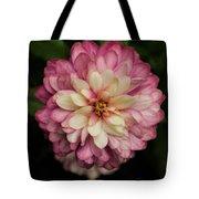 Blushing Zennia Tote Bag