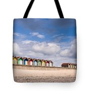 Blyth Beach Huts Tote Bag
