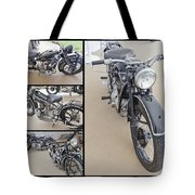 Bmw Art Deco Bikes Tote Bag