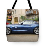 New Car On The Block Tote Bag