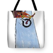 Bmx Drawing Tote Bag