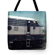 Bn F9 Train Engine Textured Tote Bag