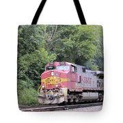 Bnsf Train Tote Bag