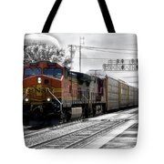 Bnsf Train Tote Bag