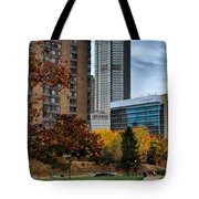 Bny Mellon From Duquesne University Campus Hdr Tote Bag
