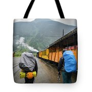 Boarding The Durango Silverton Narrow Tote Bag