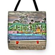 Sand And Amusement Tote Bag
