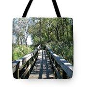 Boardwalk At Tifft Nature Preserve Buffalo New York Tote Bag
