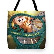 Boardwalk Bear Tote Bag