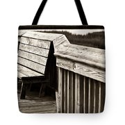 Boardwalk Bench Tote Bag