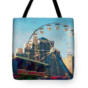 Boardwalk Ferris  Tote Bag
