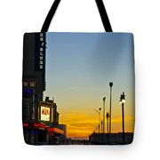 Boardwalk House Of Blues At Sunrise Tote Bag
