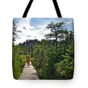 Boardwalk In Salmonier Nature Park-nl Tote Bag