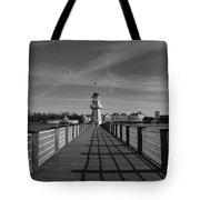 Boardwalk Lighthouse 1 Tote Bag