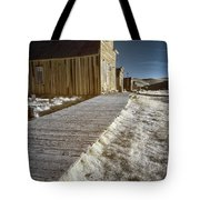 Frost On The Boardwalk Tote Bag