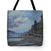 Boardwalk On Vashon Island Tote Bag