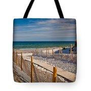 Boardwalk To Cape Cod Bay Tote Bag